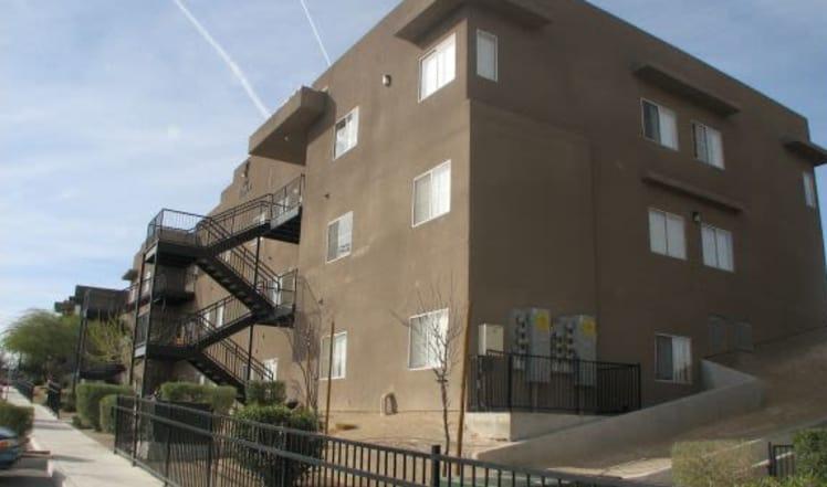 Affordable apartments at Maryland Villas in Las Vegas