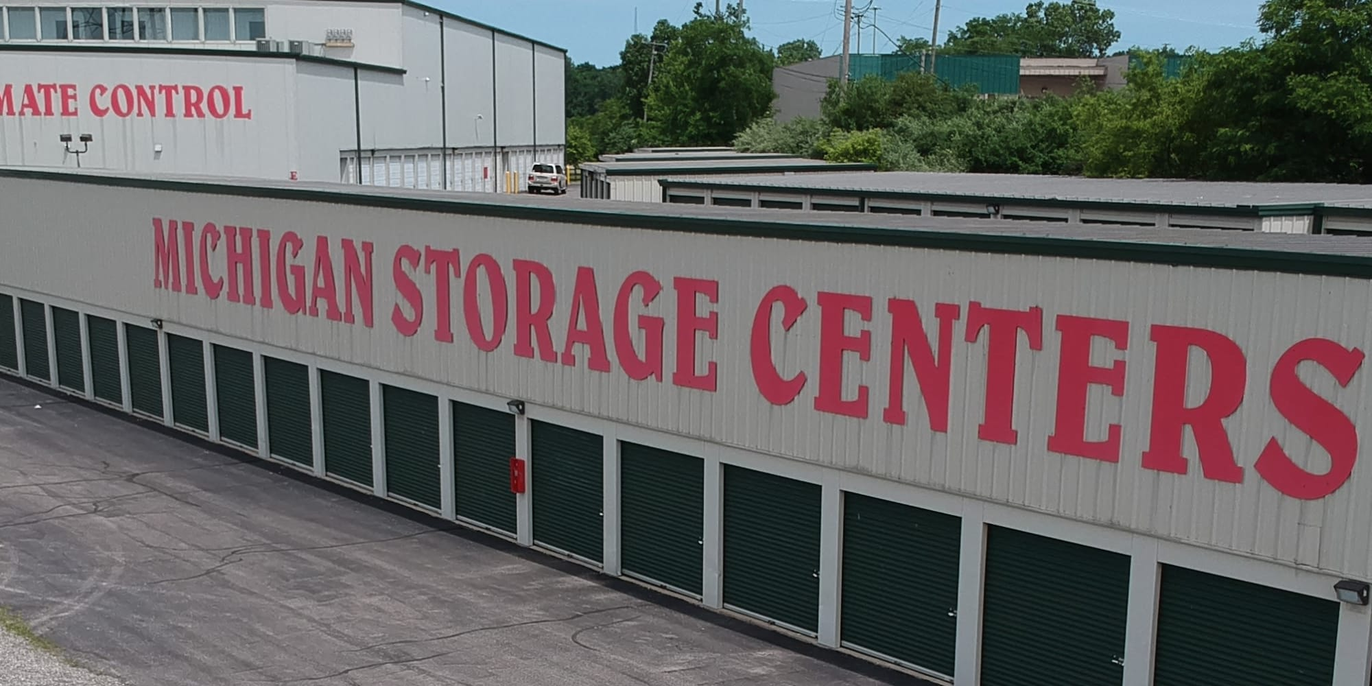 Features at Michigan Storage Centers in Farmington Hills, Michigan