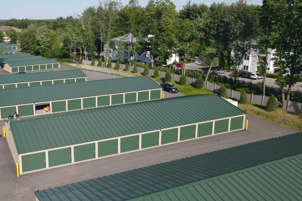 Overhead picture of facilities at 603 Storage - East Milford in Milford, New Hampshire