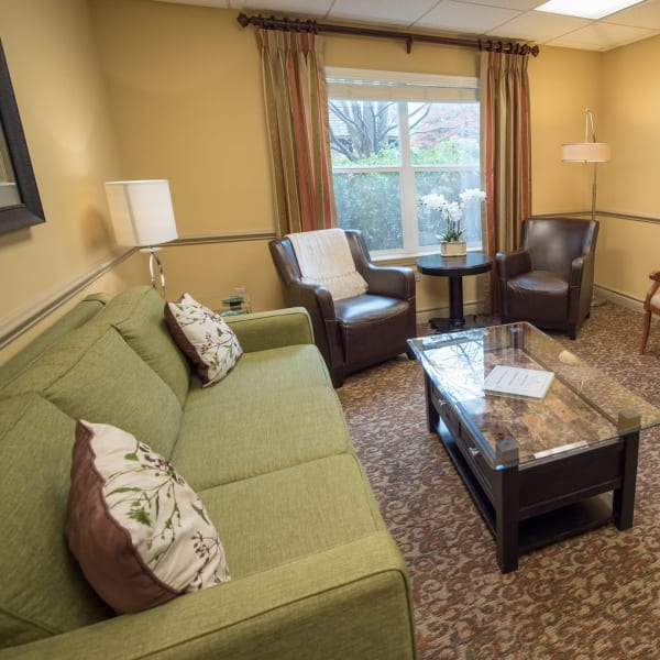 Common space at Kenmore Senior Living in Kenmore, Washington