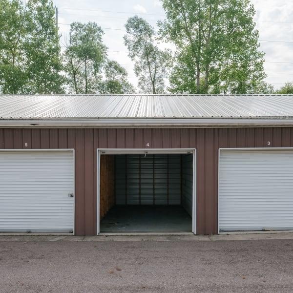 Storage units at StayLock Storage in Battle Creek, Michigan