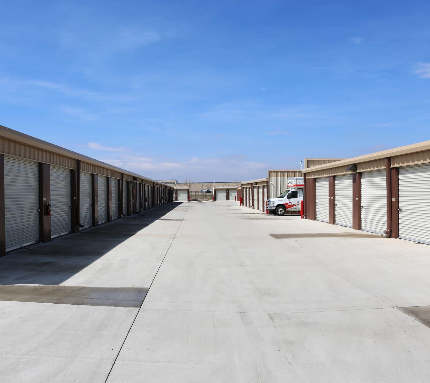Ground-floor unit at Sable Storage in Brighton, Colorado