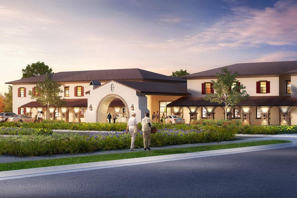 Beautiful exterior of Regency Palms Palmdale in Palmdale, California