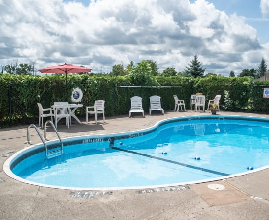 Amenities at Eagles Pointe Townhomes in Liverpool