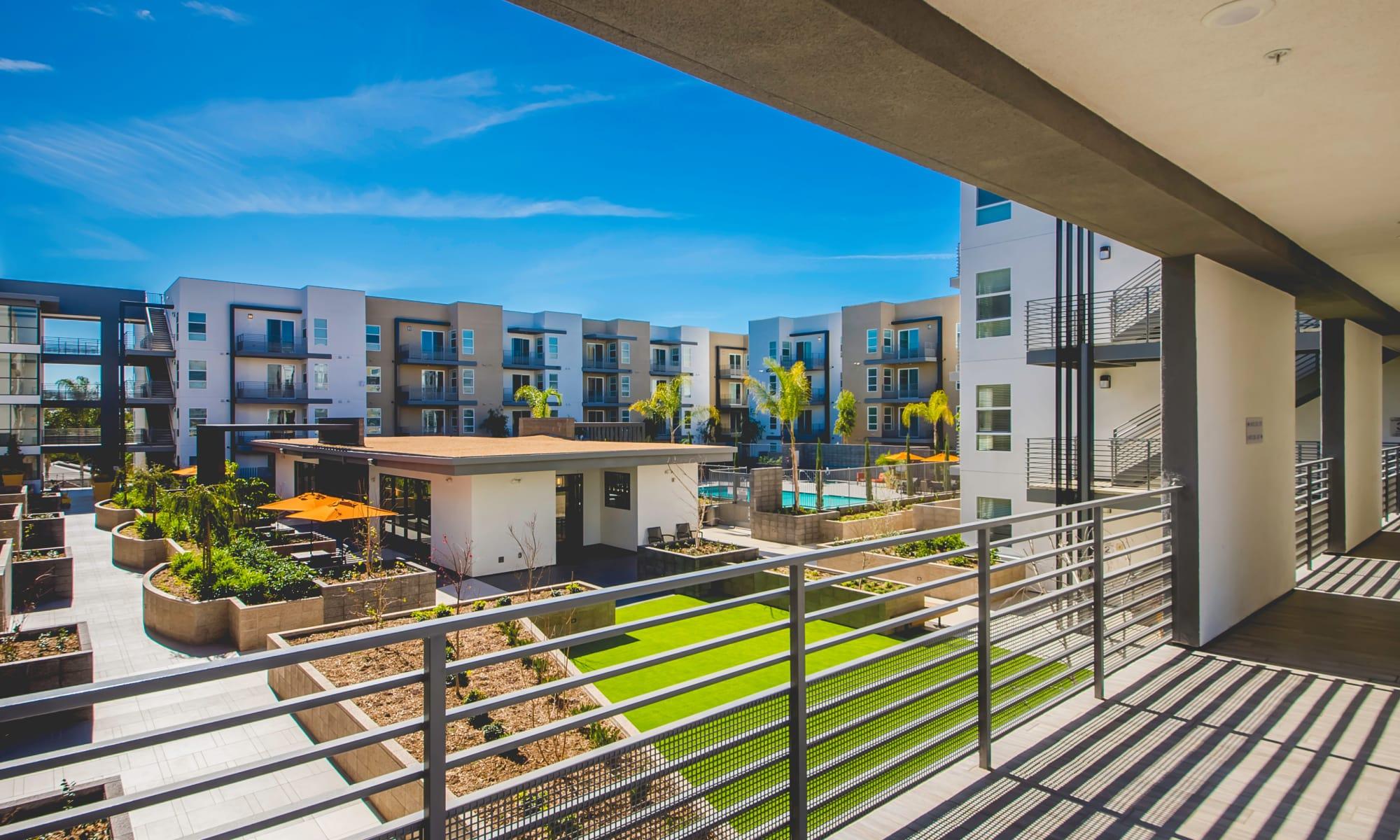 Apartments at IMT Sherman Circle in Van Nuys, California