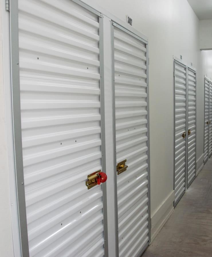 Interior units at StorQuest Self Storage in Arlington, Virginia