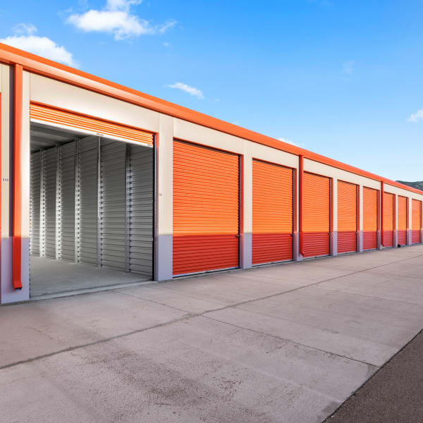 Open unit to Stor'em Self Storage in Payson, Utah
