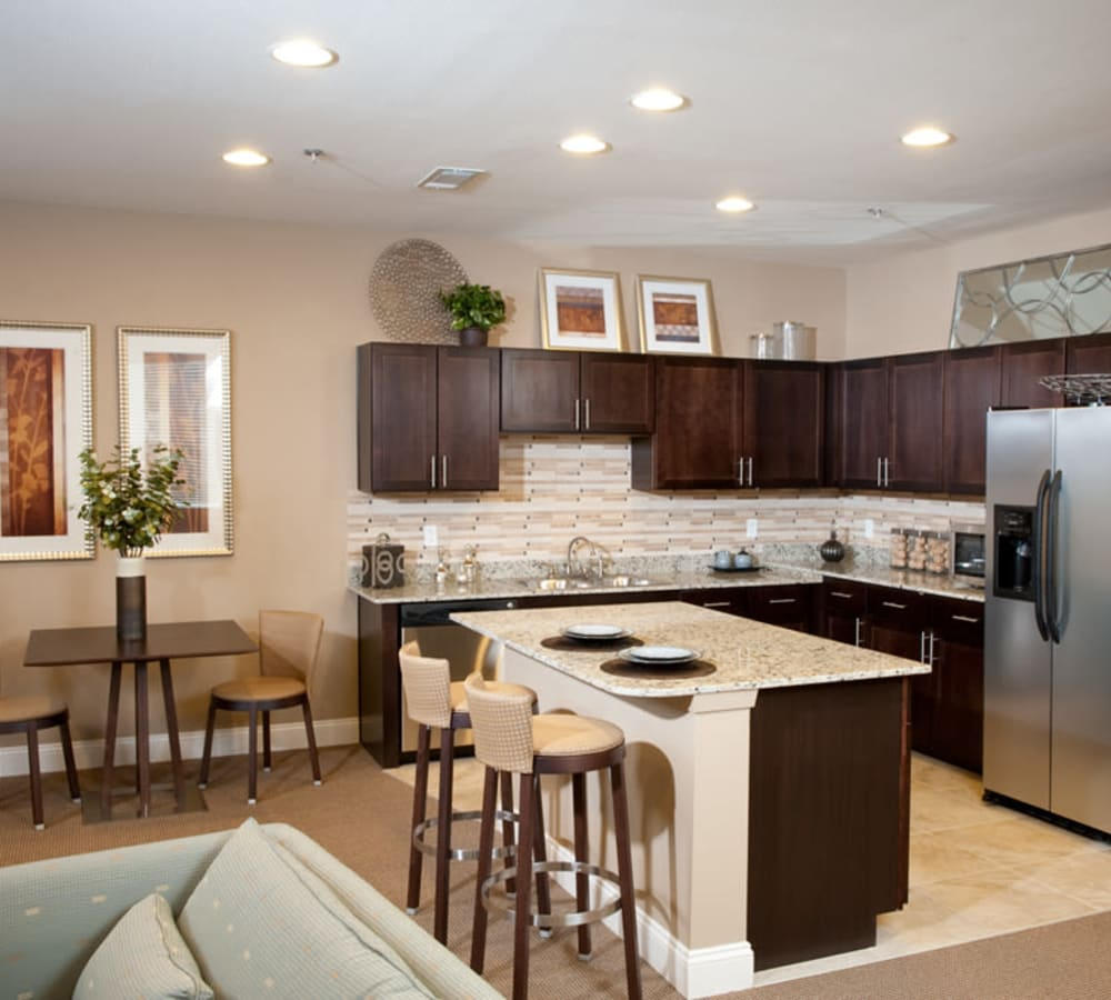 Apartment features at Meridian in New Orleans, Louisiana