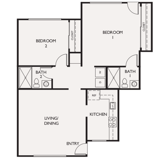 Connections For Living One Bedroom at The Reserve at Thousand Oaks in Thousand Oaks, California