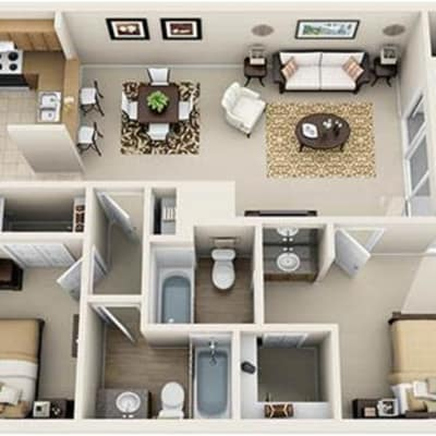 Floor Plans at Audubon Oaks in Lakeland, Florida