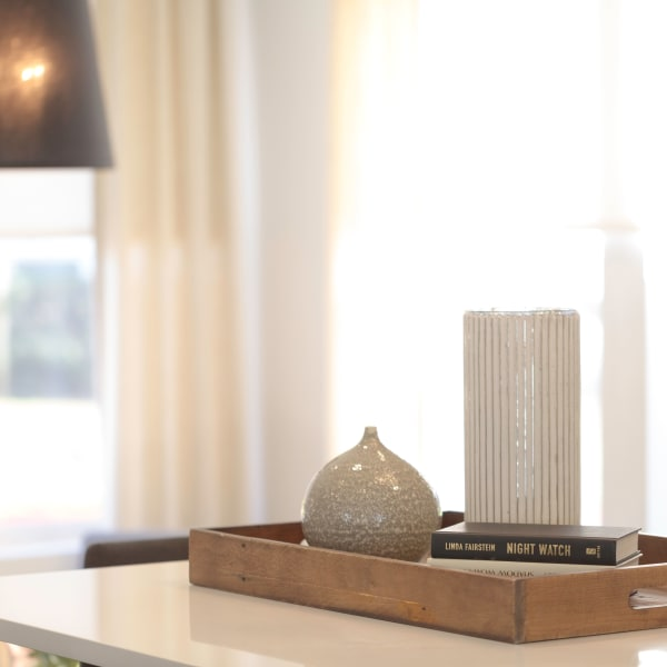 Home decor accents at Tower 737 Condominium Rentals in San Francisco