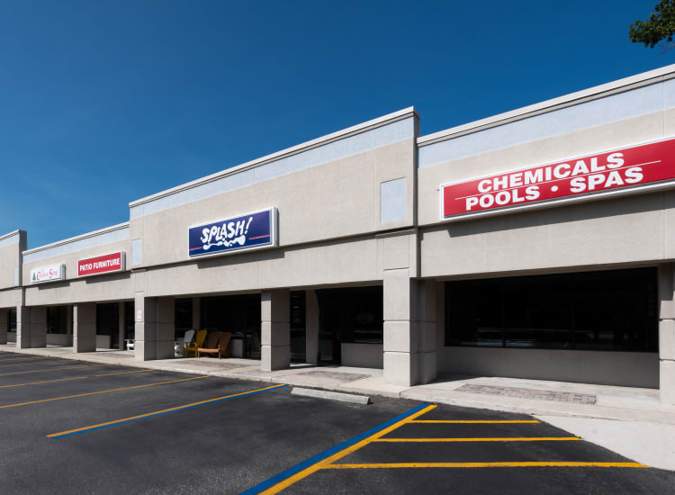 Stores of Fort Family Investments's commercial property, Baycenter Commerce Park, in Jacksonville, Florida