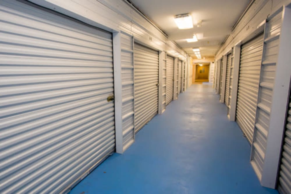 Secure indoor self storage units at StayLock Storage in Hartsville, South Carolina