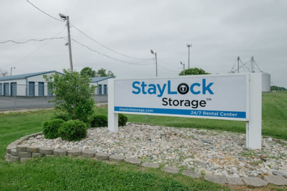 Exterior view of StayLock Storage in Noblesville, Indiana