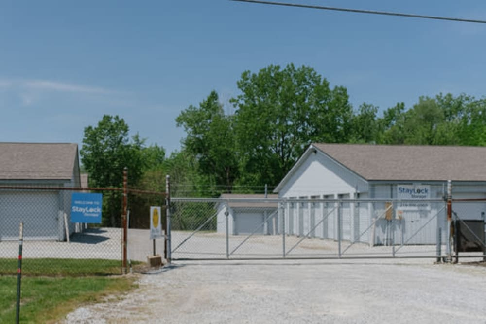 Exterior view of StayLock Storage in Hebron, Indiana
