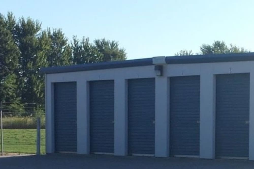 Easy access self storage units at StayLock Storage in La Porte, Indiana
