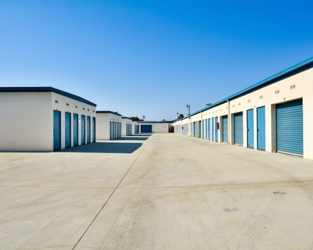 Convenient drive-up storage units at Golden State Storage - Gardena in Gardena, California