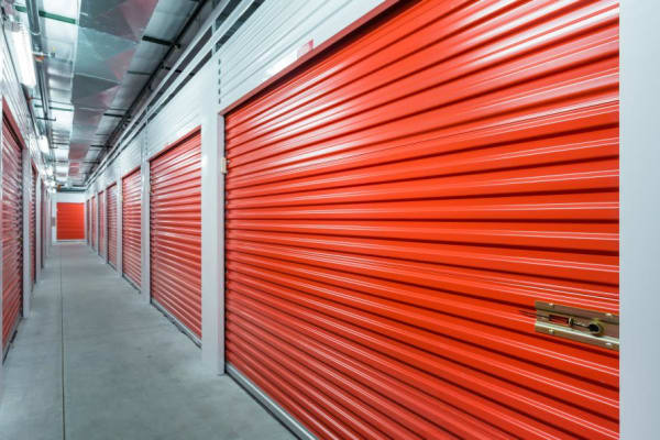 Interior storage units at Smart Space Self Storage - Colorado Springs in Colorado Springs, Colorado