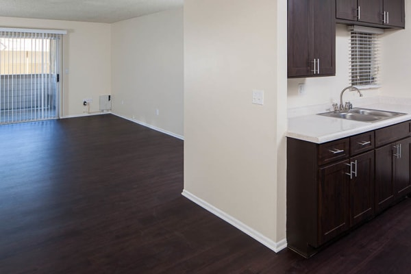 Living Room at Kendallwood Apartments in Whittier