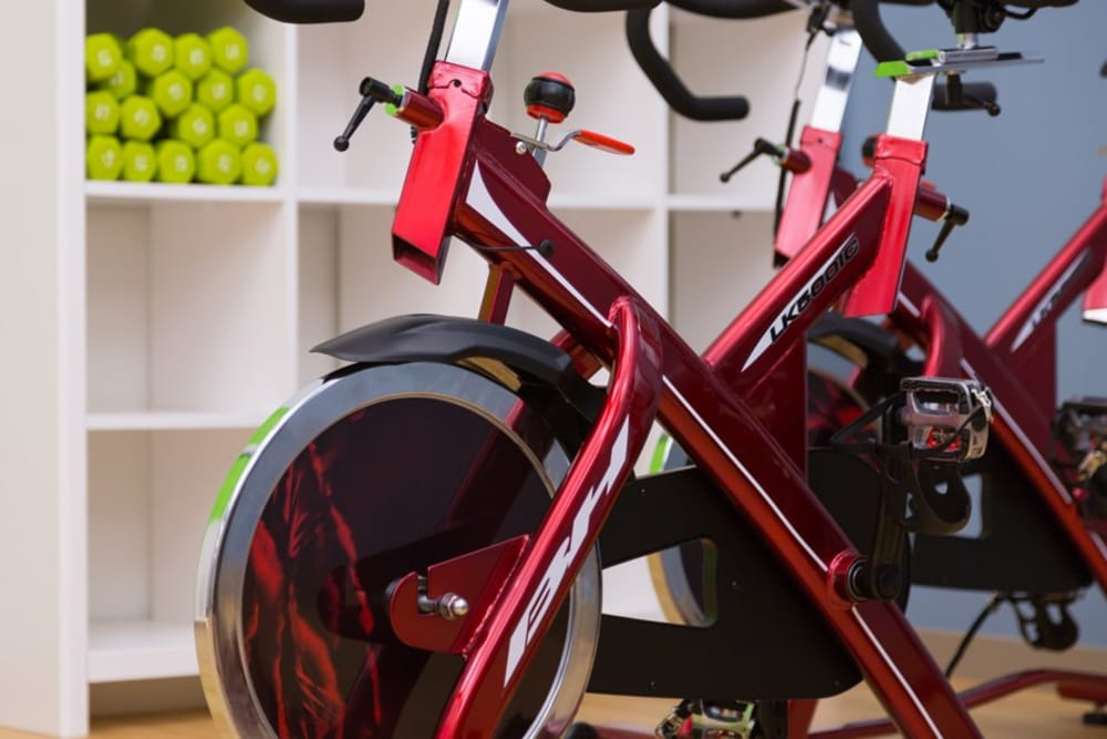 Cielo offers spin bikes in Seattle, Washington