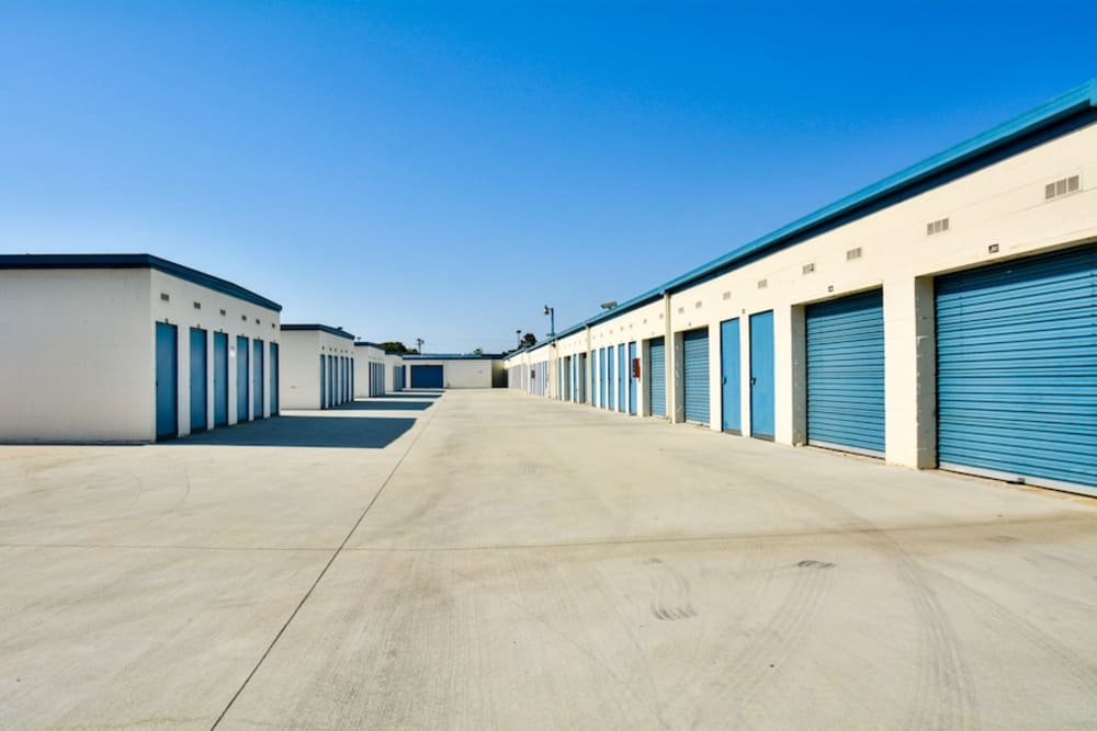 Storage buildings at our facility in Gardena