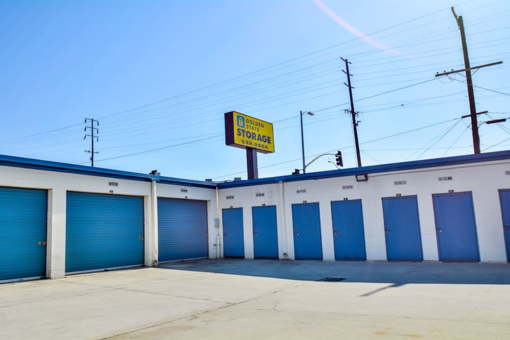 Many sizes of storage units at our facility in Gardena