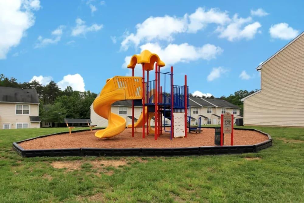 Beautiful playground at Timber Ridge
