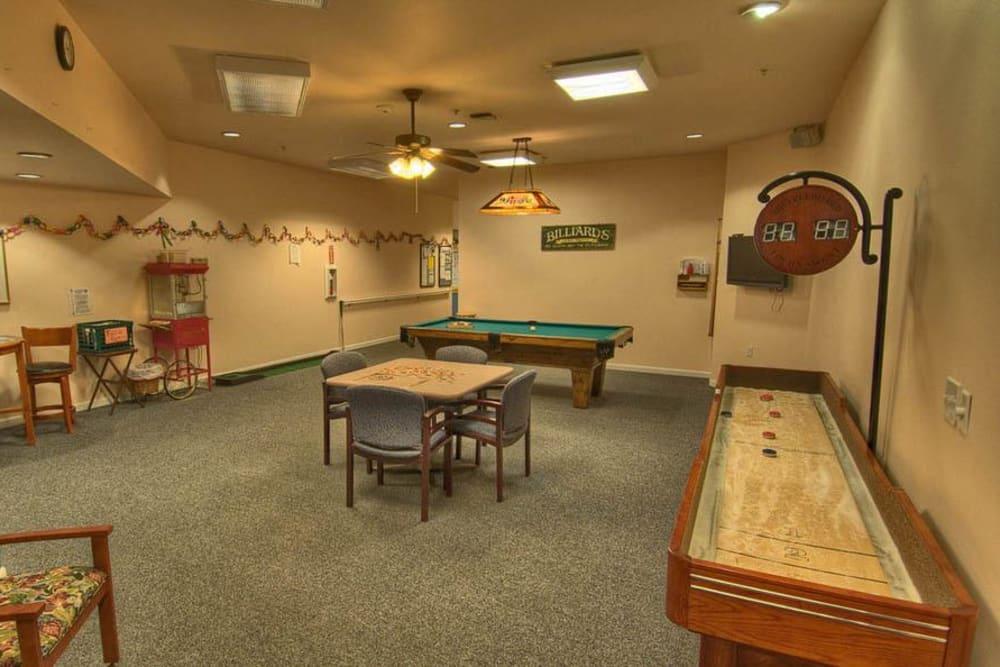 Recreation Center At Chandler's Square Retirement Community.