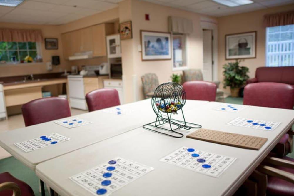 Activity room in Sedro-Woolley, WA