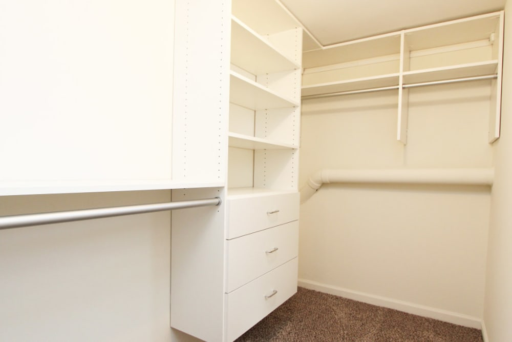 Closet  at Cypress Place in Elk Grove Village, Illinois