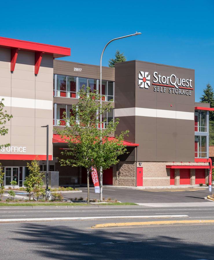 Street view of StorQuest Self Storage in Federal Way, Washington