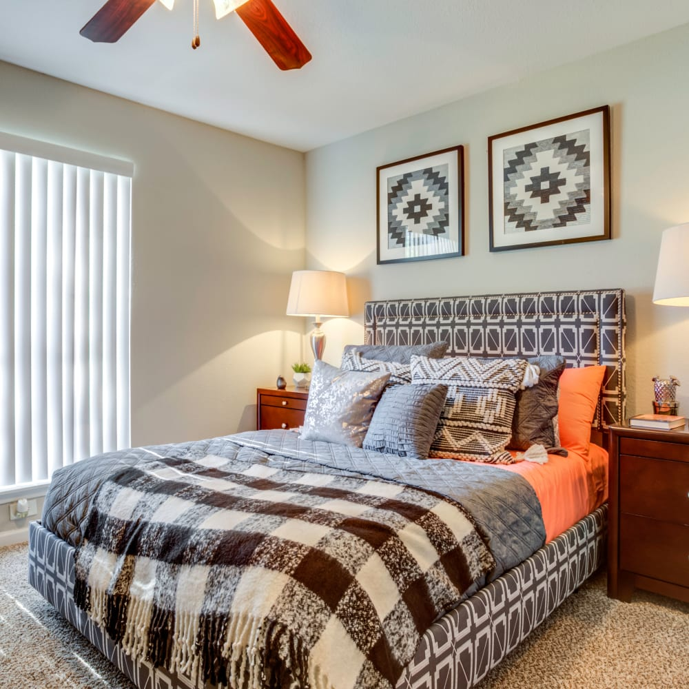 Bedroom at The Reserve at City Center North in Houston, Texas