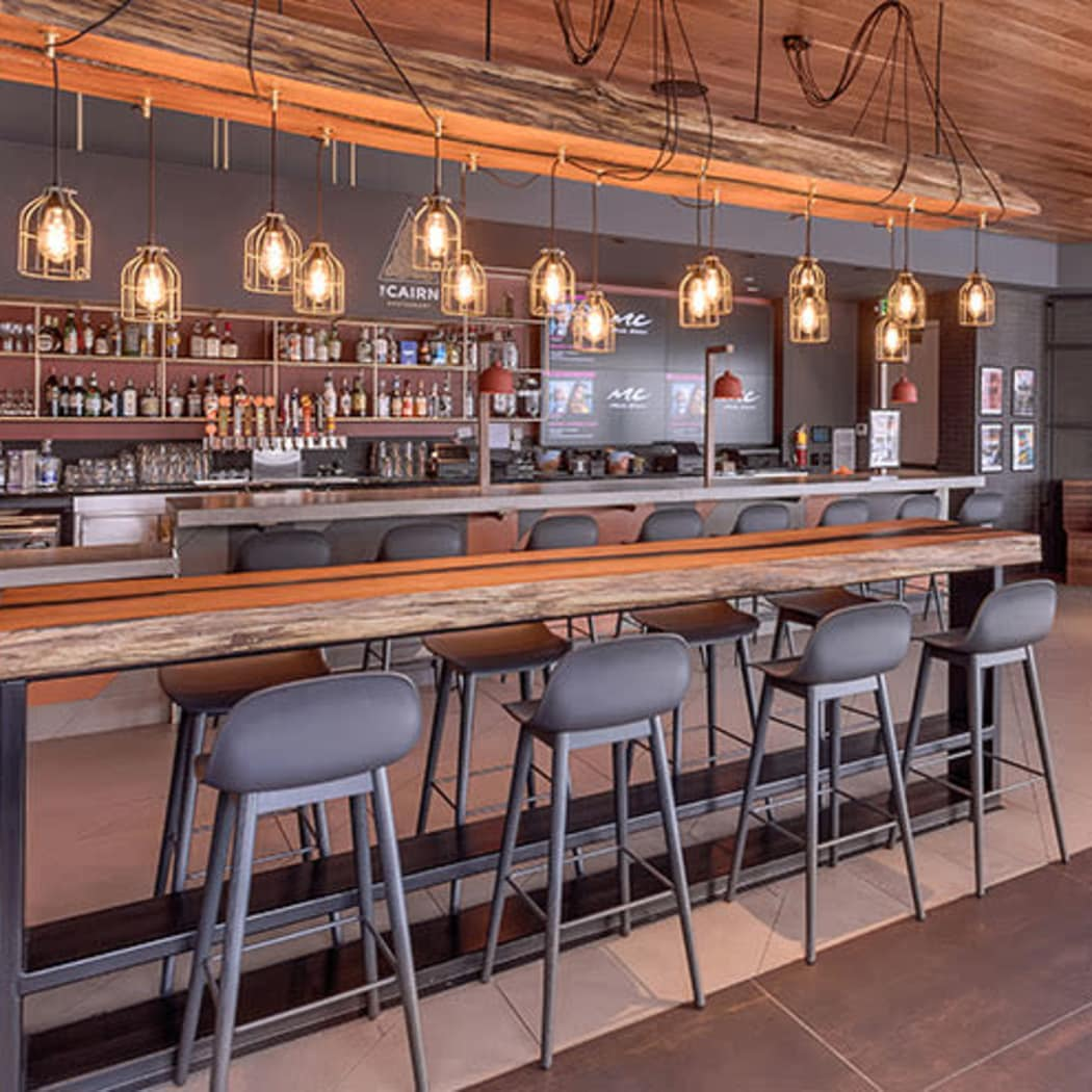 Bar at TAVA Waters's The CAIRN in Denver, Colorado