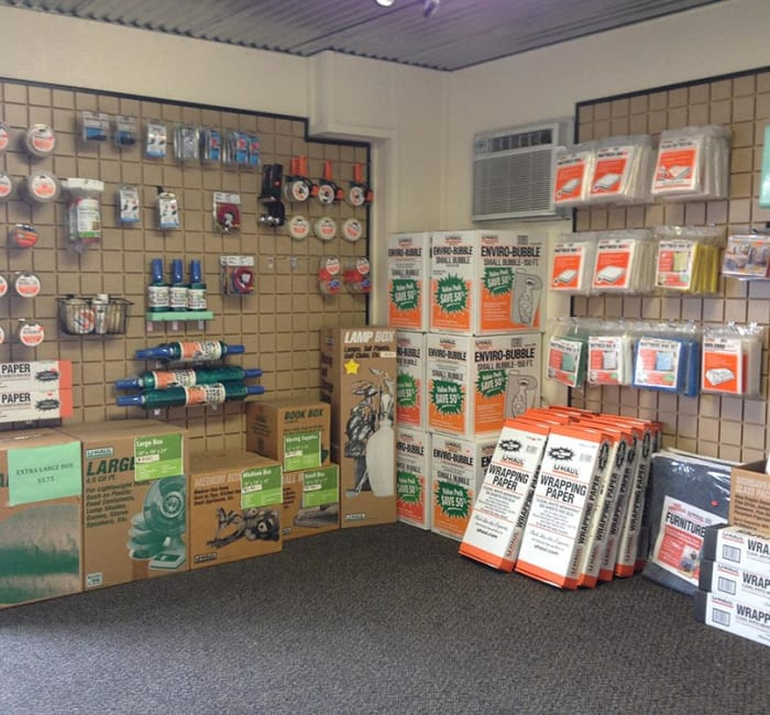 Packing supplies for sale at Tri Star Self Storage - Sanger in Waco, Texas
