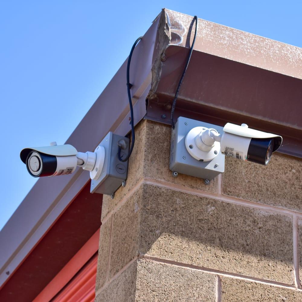 Video surveillance cameras at STOR-N-LOCK Self Storage in Taylorsville, Utah