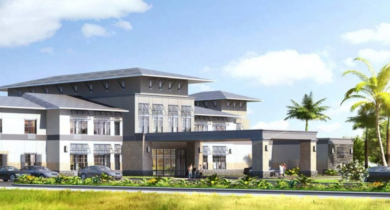 Exterior of Inspired Living at Royal Palm Beach in Royal Palm Beach, Florida