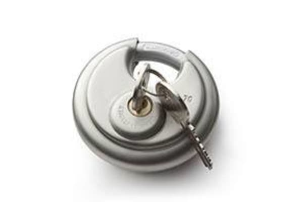 Circular locks for sale at Golden State Storage in Camarillo, California