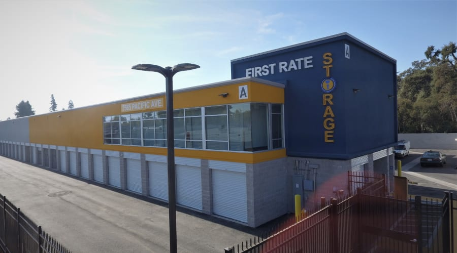 Large storage units available at First Rate Storage in Stockton, California