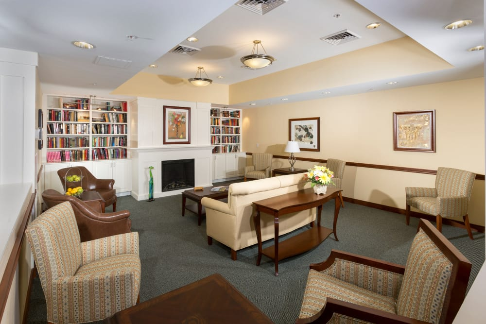 Beautiful living room at Weinberg Villages I-V in Owings Mills, Maryland