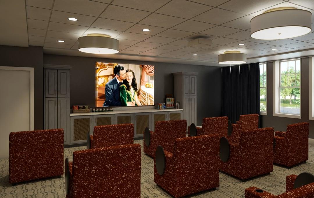 Movie Theater at Anthology of Farmington Hills in Farmington Hills, Michigan