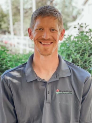 Mike Gould, Maintenance Director of Maple Ridge Senior Living in Ashland, Oregon