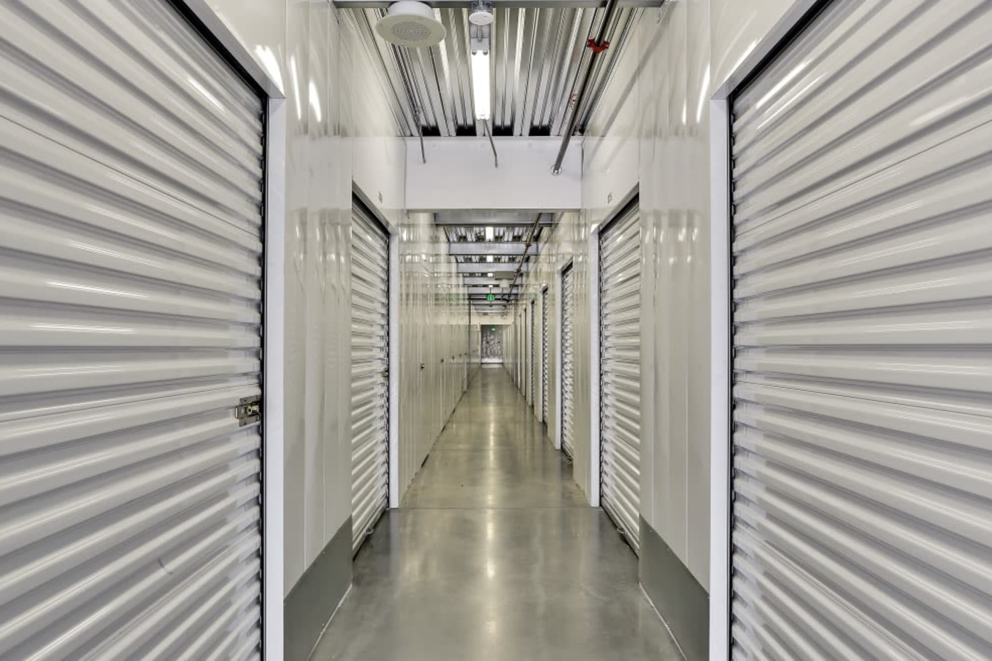 Indoor storage at A-1 Self Storage in San Jose, California