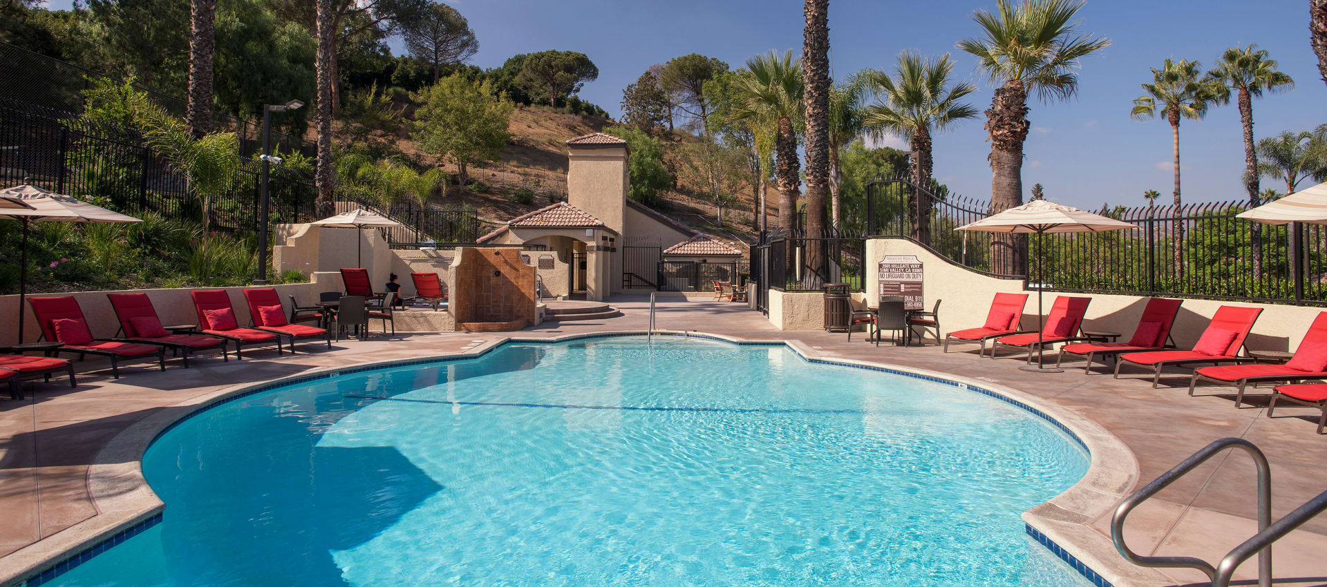 Two Swimming Pools & Spa at Shadow Ridge Apartment Homes in Simi Valley