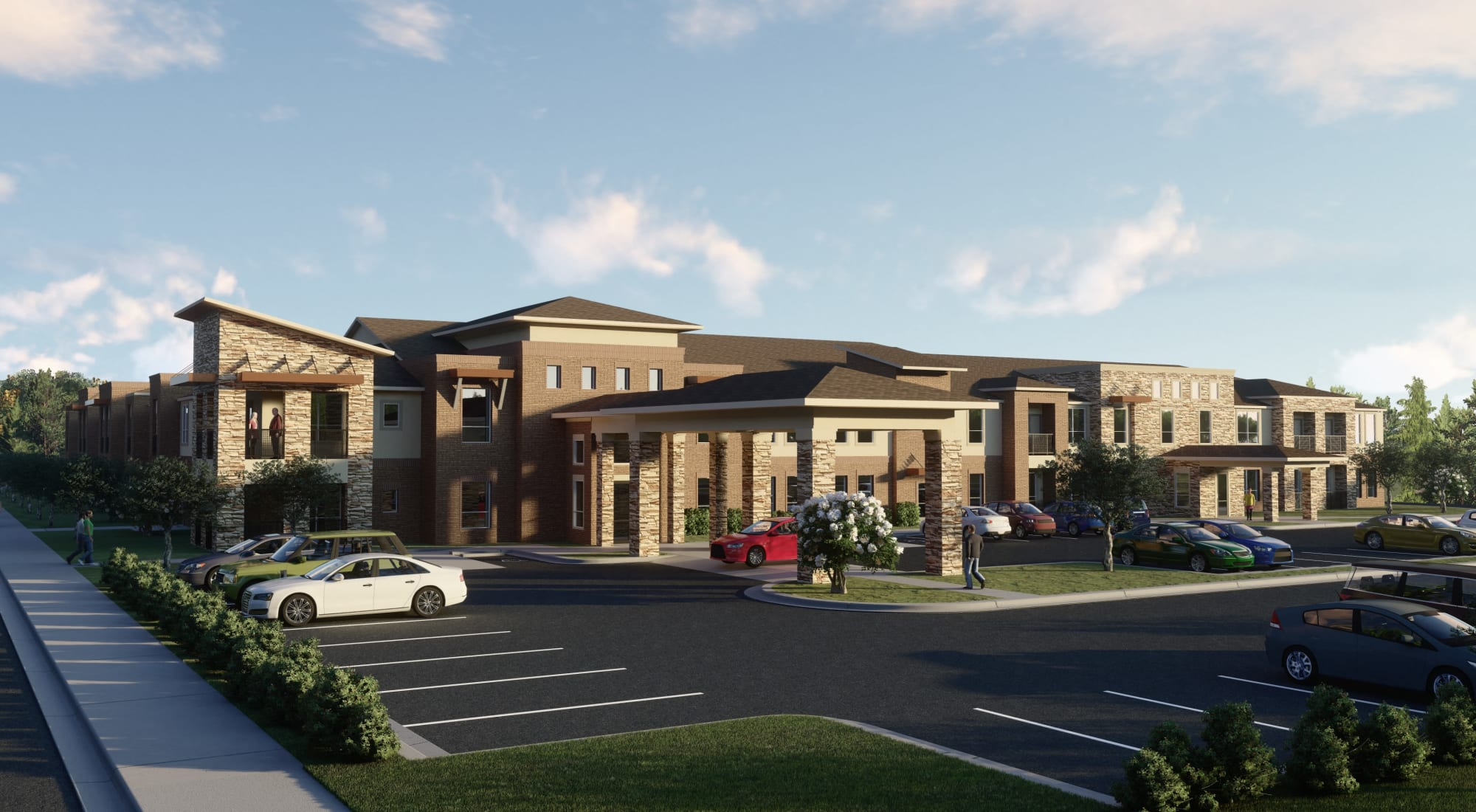 Senior living at Landing at Watercrest Shadow Creek Ranch in Pearland, Texas