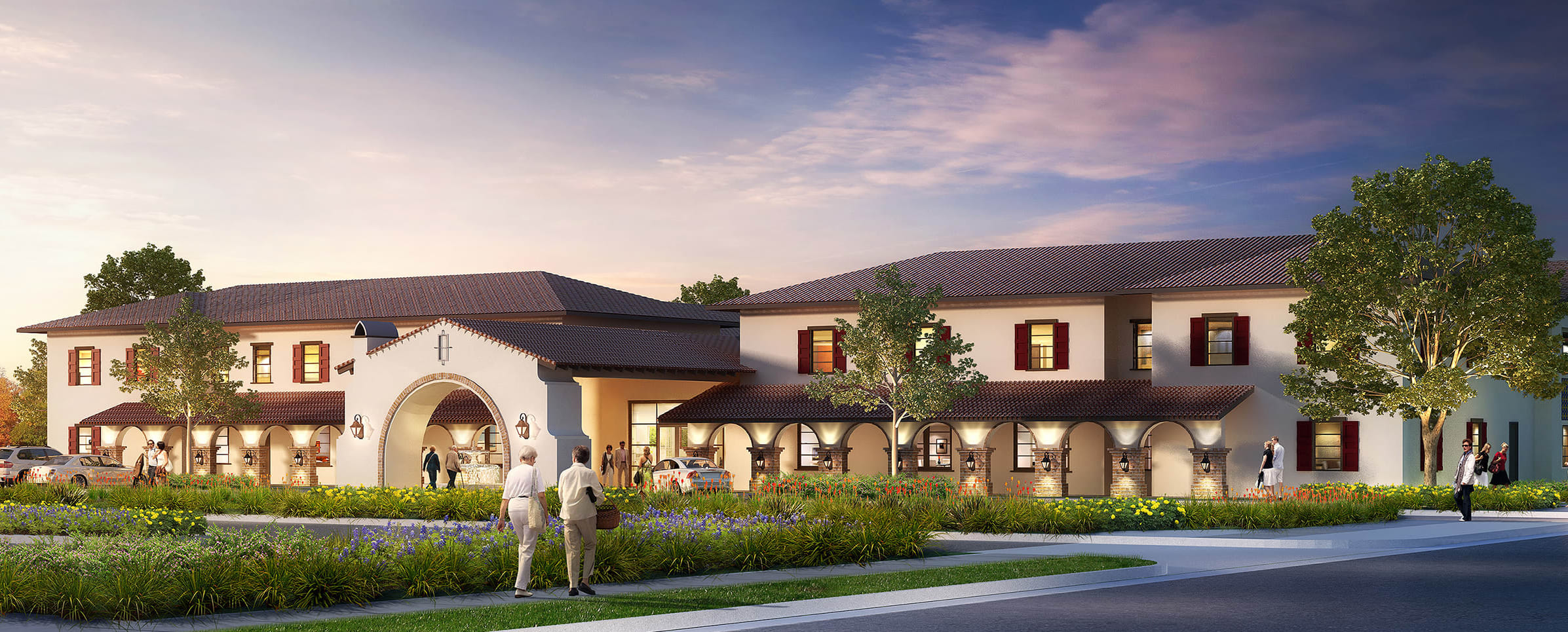 Senior living at Regency Palms Palmdale in Palmdale, California