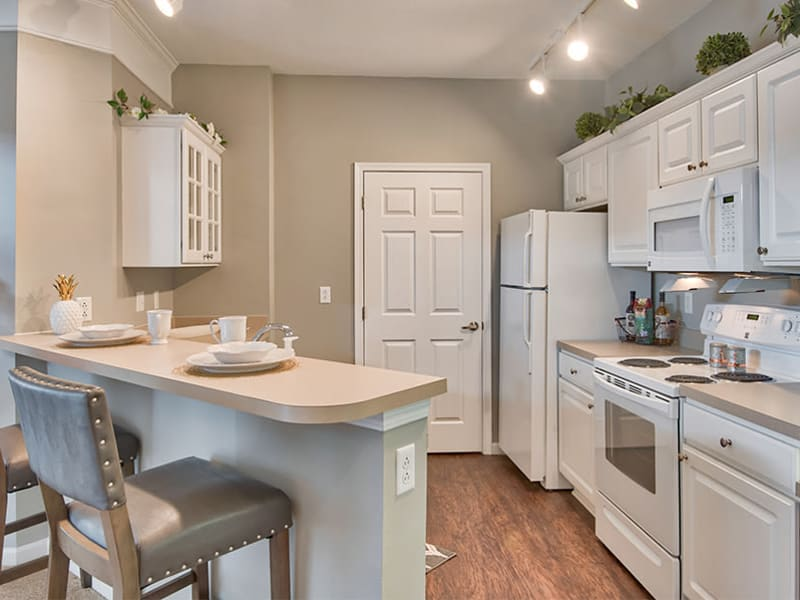 Enjoy apartments with a kitchen that is great for entertaining at Chelsea Place
