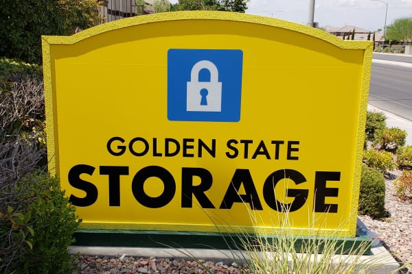 Moving supplies at Golden State Storage - Horizon Ridge in Henderson, NV