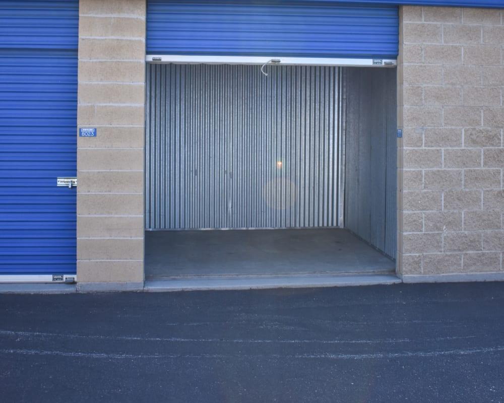 Enclosed auto storage at STOR-N-LOCK Self Storage in Boise, Idaho