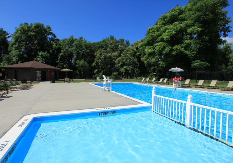 Chelsea Ridge Apartments offers a great for entertaining swimming pool in Wappingers Falls, NY