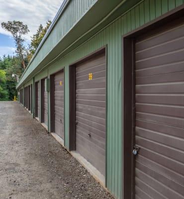 A variety of units available at Bainbridge North Storage in Bainbridge Island, Washington.